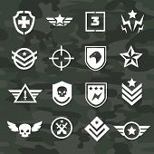 image of special forces  - Military symbol icons and logos special  forces - JPG