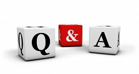stock photo of confusing  - Question and answer web faq and business contact center support concept with q  - JPG