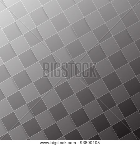 Halftone Grey Tile Abstract Modern Background