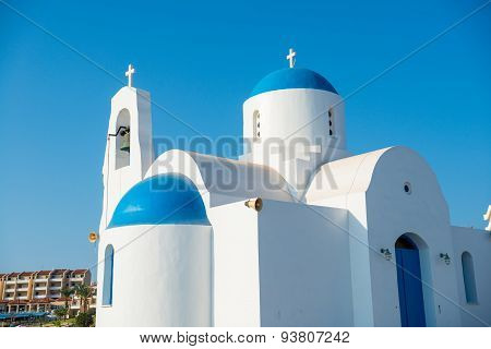 St. Nicolas Church In Protaras, Cyprus