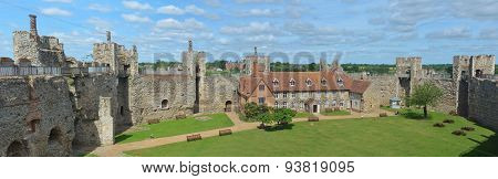 Framlingham castle and Poorhouse