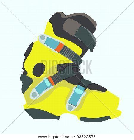 Snowboard boot.