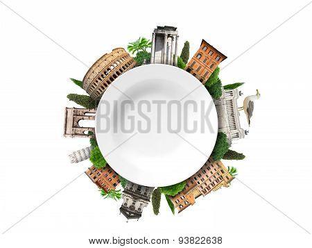 Italy, landmarks of Rome