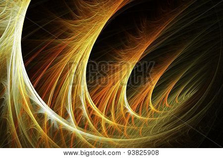 Abstract Image : Fractal Vortex.