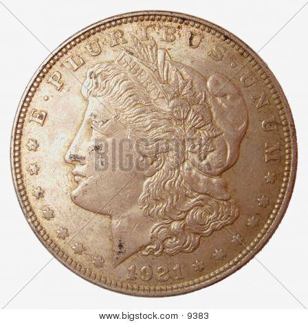 1921 Morgan Dollar poster