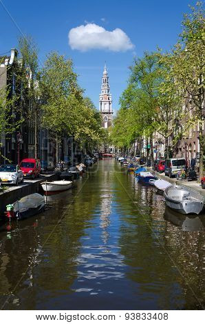 Zuiderkerk (southern Church)  In Amsterdam, The Netherlands