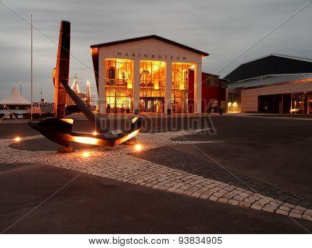 Maritime Museum in Karlskrona.