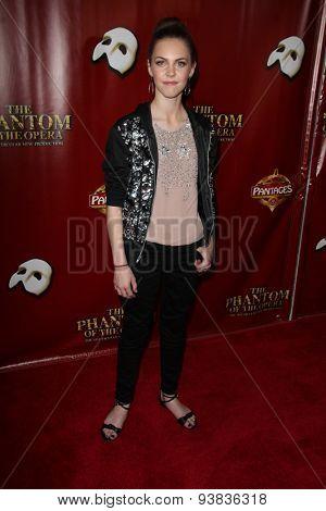 LOS ANGELES - JUN 17:  Kaitlyn Dias at the