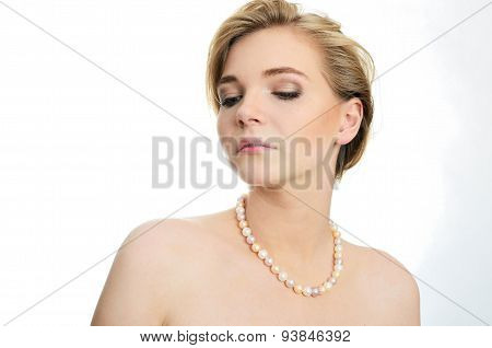 Young Girl With Pearls