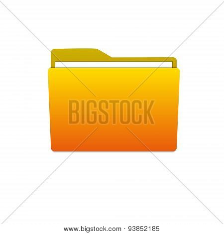 Yellow  Button File Manager