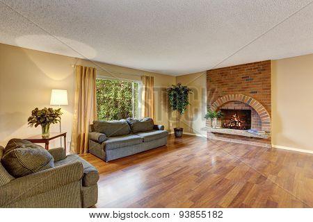 Bperfect Hardwood Living Room.