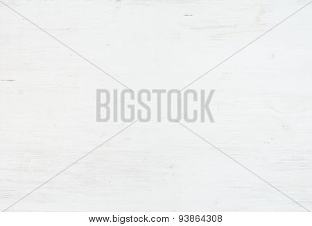 Wooden texture, white wooden background with kitchen napkin, ver