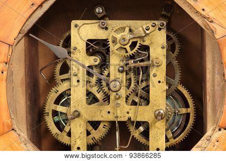 Vintage Clock's Gears