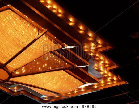 Golden Crystal Lights