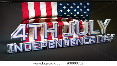 4Th July American Independence Day 3D
