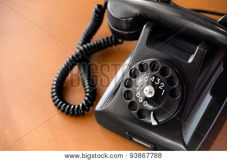 Old Rotary Dial Phone