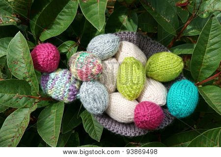 Handmade Egg, Easter, Holiday, Knit