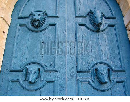 Grand Blue Doors