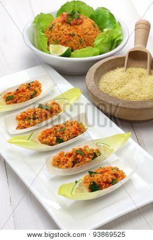 kisir, bulgur wheat salad, turkish cuisine, vegetarian food