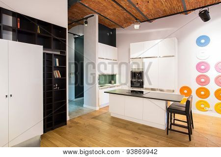 Kitchen In Loft