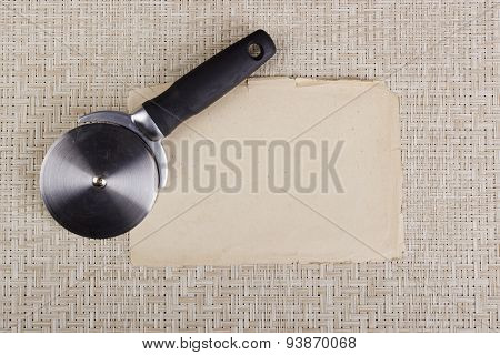 Round Knife For Cutting Pizza