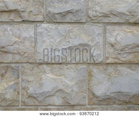 Marble wall close-up