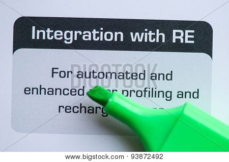 Integration With Re