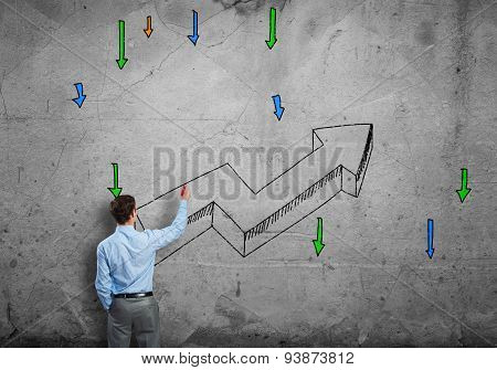 Grow and success concept