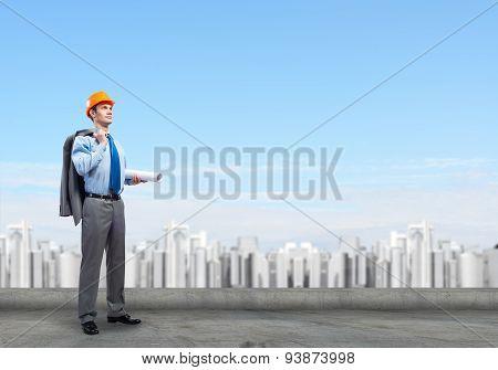 Man engineer