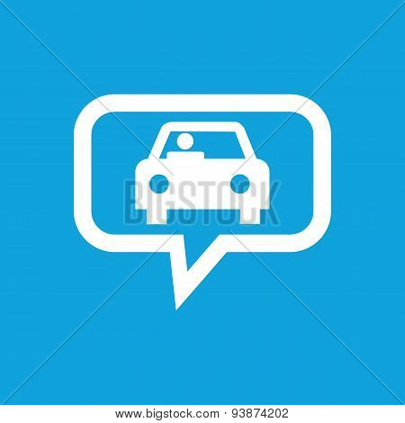 Car message icon