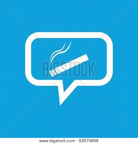 Smoking message icon