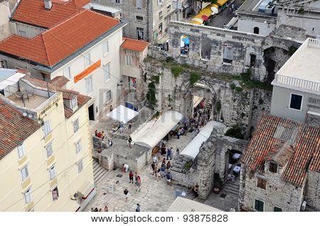 Diocletian Palace. Split, Croatia