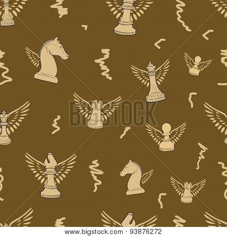 Winged seamless chess