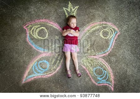 Little girl Butterfly, RESENTMENT.