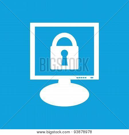 Locked monitor icon