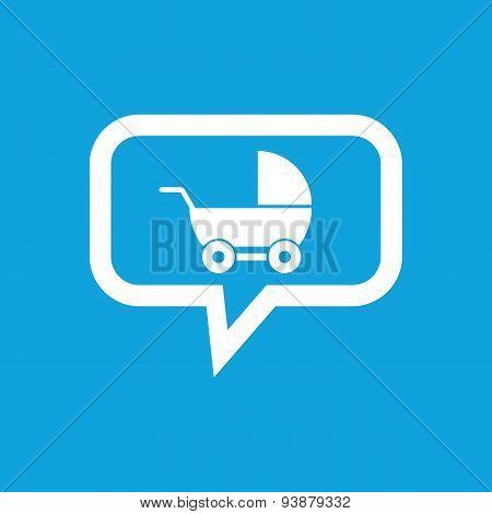 Pram message icon