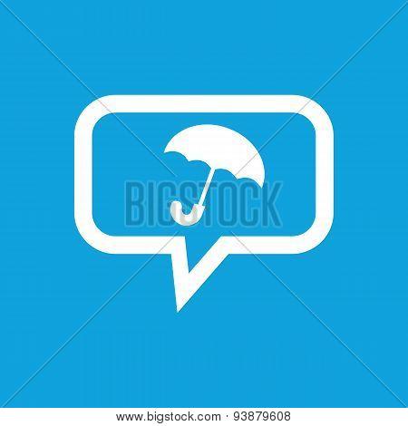 Umbrella message icon
