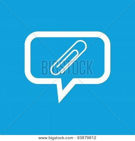 Paperclip message icon