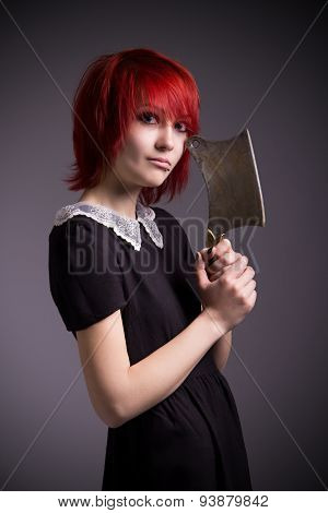 Girl With An Ax