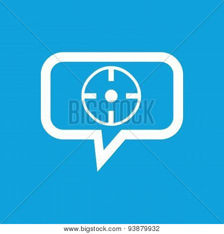 Target message icon
