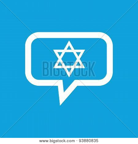 Star of David message icon