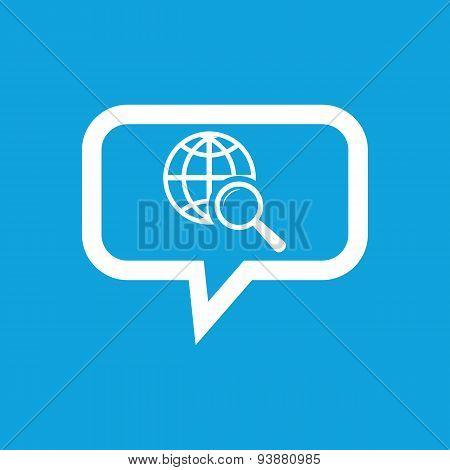 Global search message icon