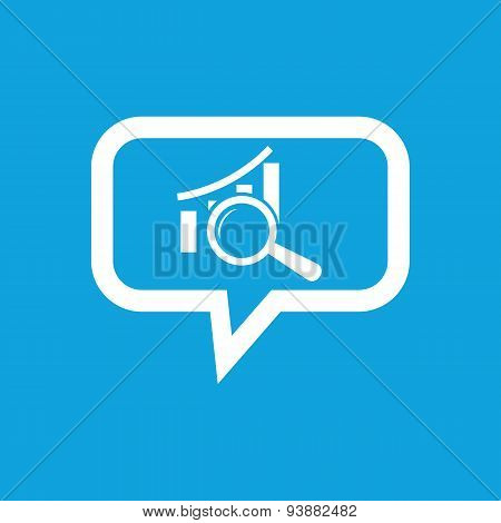 Graphic examination message icon