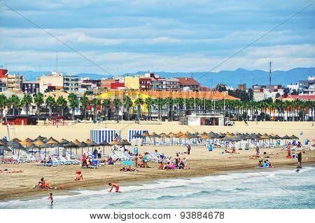 Valencia Beach, Spain
