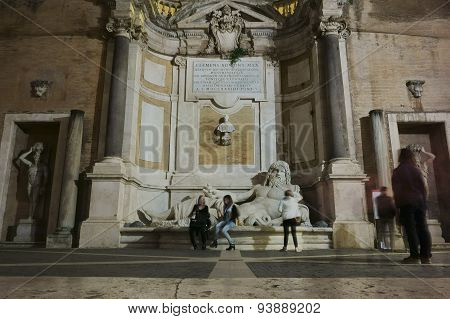 Marphurius Fountain In Rome
