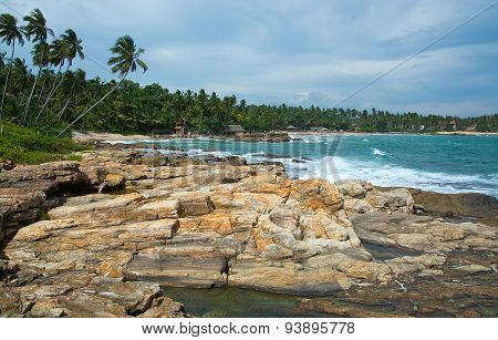 Rocky Point beach Sri Lanka
