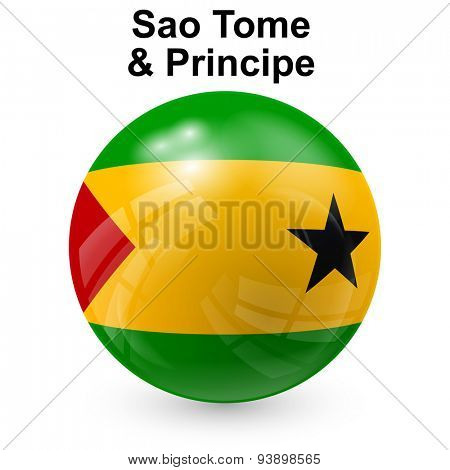 State flag of Sao Tome and Principe