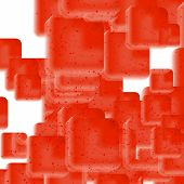 foto of hemoglobin  - Vector Abstract geometric background - JPG
