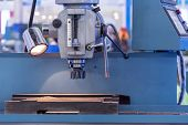 picture of water-mill  - CNC milling machine milling heads in metal industry - JPG