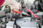 pic of pliers  - The process of repair wiring car using pliers - JPG